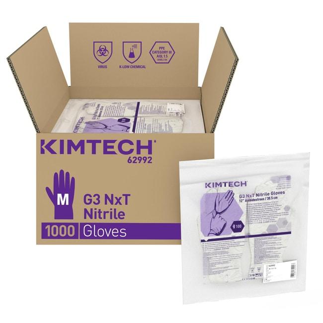 Kimberly-Clark™Kimtech™ G3 NxT™ Nitrile Ambidextrous Gloves Medium Kimberly-Clark™Kimtech™ G3 NxT™ Nitrile Ambidextrous Gloves