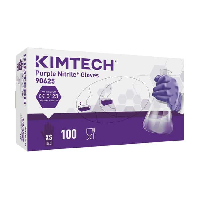 Kimberly-Clark™Kimtech™ Purple Nitrile™ Ambidextrous Gloves: Gloves Gloves, Glasses and Safety