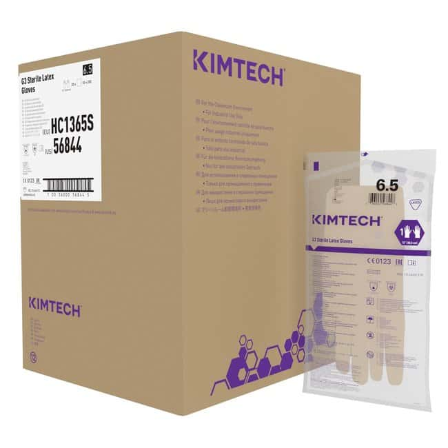 Kimberly-Clark Professional™ Kimtech™ G3 Sterile Latex Hand Specific Gloves