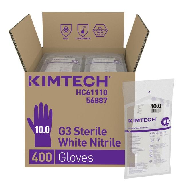 Kimberly-Clark Professional™Kimtech Pure™ G3 sterile Nitril-Handschuhe Size: 10 Kimberly-Clark Professional™Kimtech Pure™ G3 sterile Nitril-Handschuhe