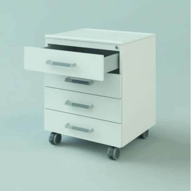 Koettermann™Standard Bottom Cabinet, with Wheels, 600x740x516 Four drawers Laboratory Cabinets