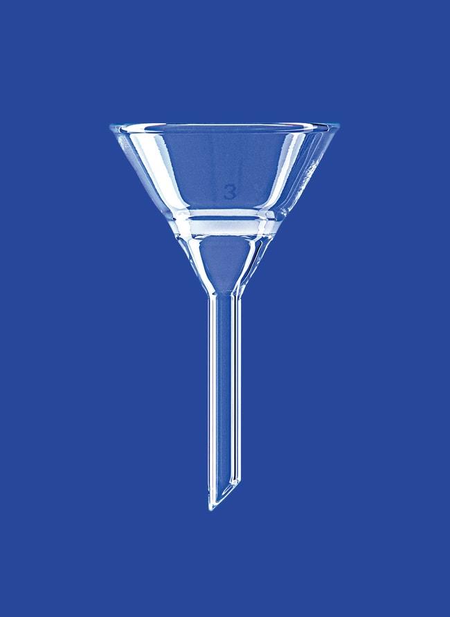 Lenz Laborglasinstrumente™Konische Filtertrichter aus Borosilikatglas: Funnels and Filtration Becher, Flaschen, Zylinder und Glasartikel