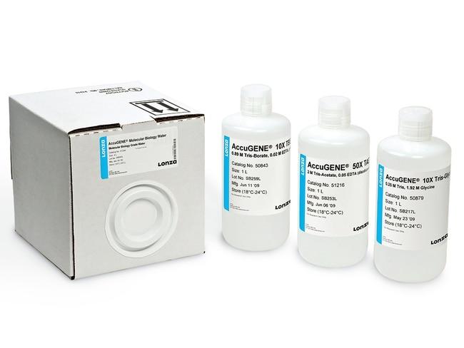 Lonza™AccuGENE™ Molecular Biology Water Molecular Biology Water; 1L Lonza™AccuGENE™ Molecular Biology Water