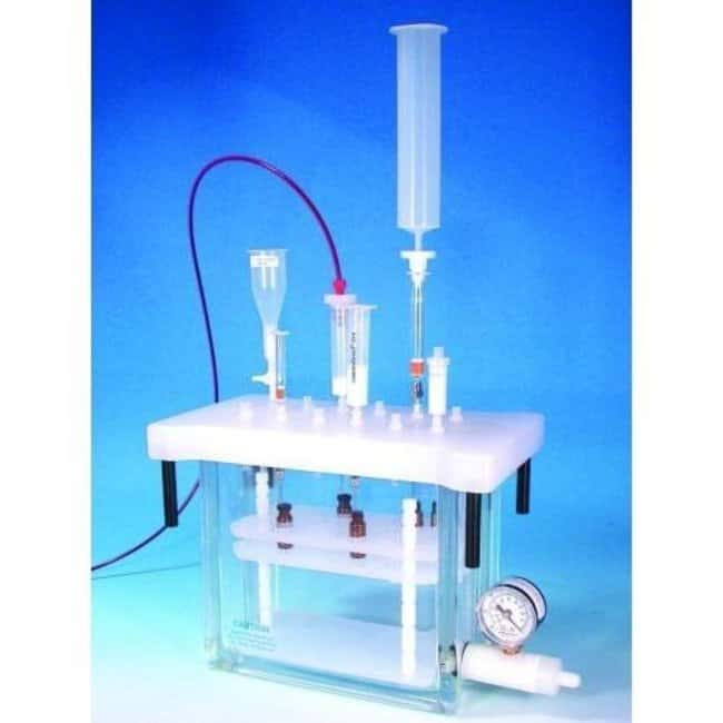 Macherey-Nagel™CHROMABOND Réservoir en polypropylène pour chambre à vide de 12 colonnes For Use With: For Vacuum Manifold for 12 Columns Accessoires pour SPE