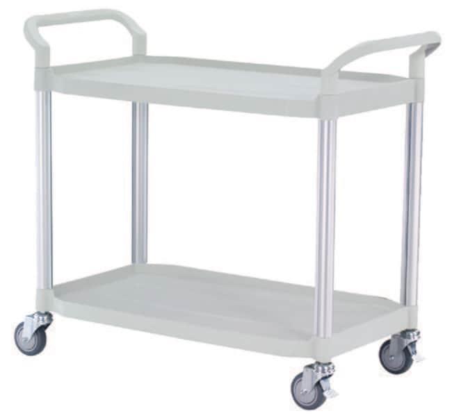 Multiroir Controlec™Multi-Purpose Plastic Tray Trolley Multi-purpose cart: 2 shelves; 1100 x 520 x 950 mm, Grey Ver productos