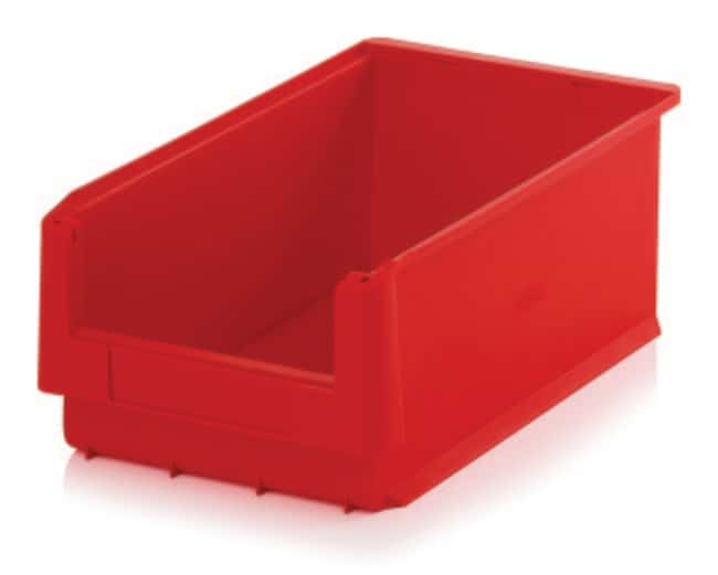 Multiroir Controlec™ Semi Open Fronted Containers, SLK series SLK Semi-Open Bins: Capacity - 30L; Color - Red; Size - 500 x 315 x 200mm Multiroir Controlec™ Semi Open Fronted Containers, SLK series