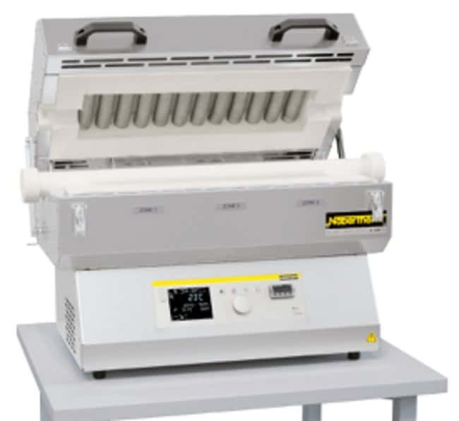 NaberthermSplit Type Horizontal Tube Furnace RSH 1100 Series with P480 Controller Tube O.D: 50 mm, Heated Length: 500 mm NaberthermSplit Type Horizontal Tube Furnace RSH 1100 Series with P480 Controller