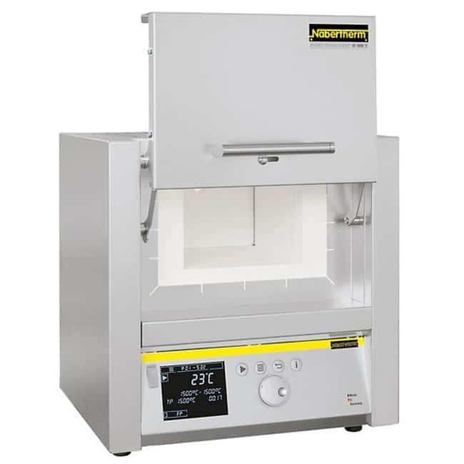 Nabertherm™Muffle Furnaces with Lift Door Controller: C450; Capacity: 15L; I.D. (D x W x H): 340 x 230 x 170mm Nabertherm™Muffle Furnaces with Lift Door