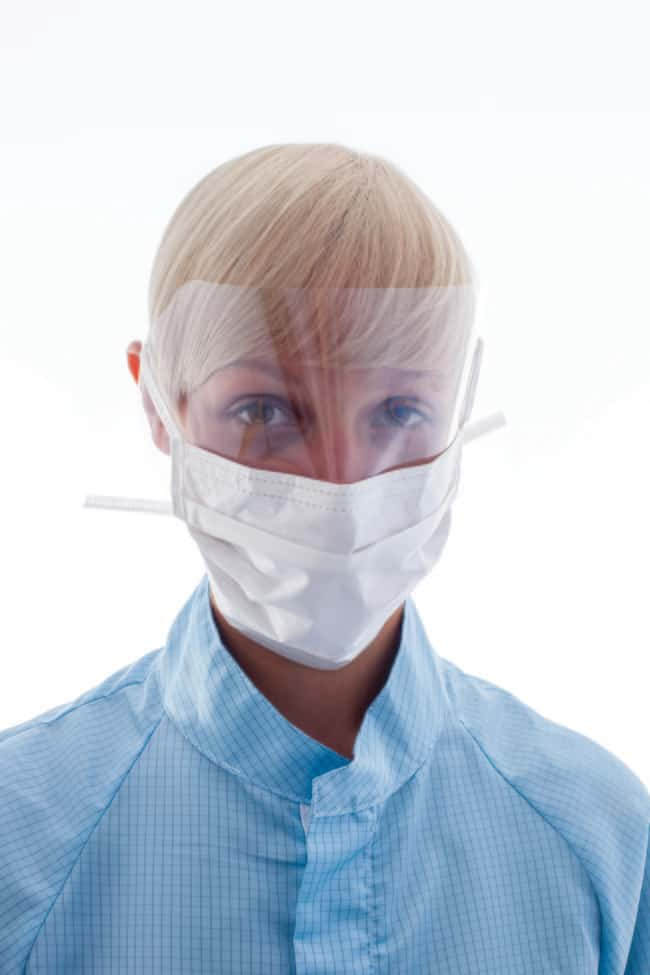 Ansell BioClean Clearview Sterile Visor Facemask Length: 210 mm (±5