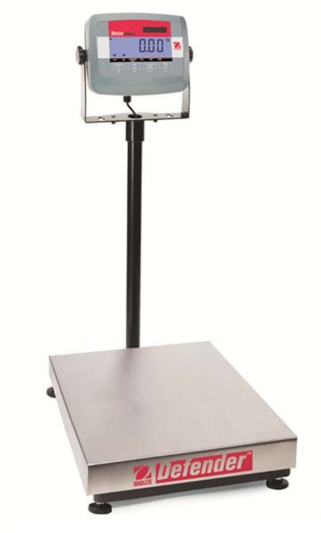 Ohaus™ Defender™ 3000 Stainless Steel Bench Scale 60 kg Balances de paillasse