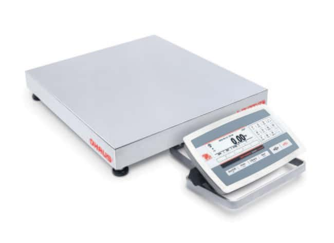 OHAUS™ Defender™ 5000 - D52 Low Profile Bench Scale, Models TD52XW QX Model: D52XW150RQDX5-EU OHAUS™ Defender™ 5000 - D52 Low Profile Bench Scale, Models TD52XW QX
