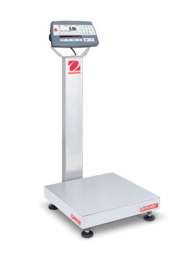 OHAUS™Defender™ 5000 - D52 Bench Scale, Models TD52P QL Model: D52P30RQDL2 OHAUS™Defender™ 5000 - D52 Bench Scale, Models TD52P QL