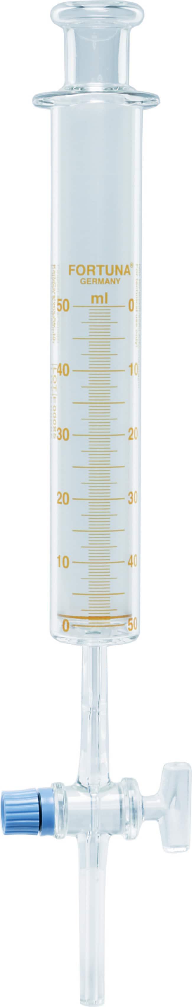 Poulten & Graf GmbHFORTUNA™ Precision Gas Syringe Volume Metric: 50mL Poulten & Graf GmbHFORTUNA™ Precision Gas Syringe