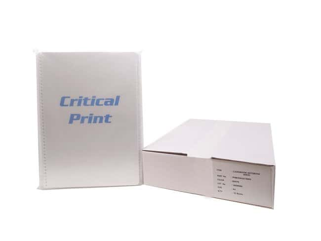 PURUS™ Critical Print Cleanroom Notebooks White, A4, Grid PURUS™ Critical Print Cleanroom Notebooks