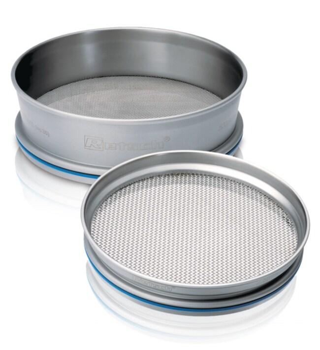 RETSCH203mm Diameter Stainless Steel Test Sieve with Electroformed Sheet Pore Size: 10um RETSCH203mm Diameter Stainless Steel Test Sieve with Electroformed Sheet