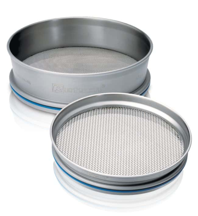 RETSCH305 dia. x 40mmH Stainless Steel Sieve with Round Holes, Pore Size: 10mm and Larger Pore Size: 20mm RETSCH305 dia. x 40mmH Stainless Steel Sieve with Round Holes, Pore Size: 10mm and Larger