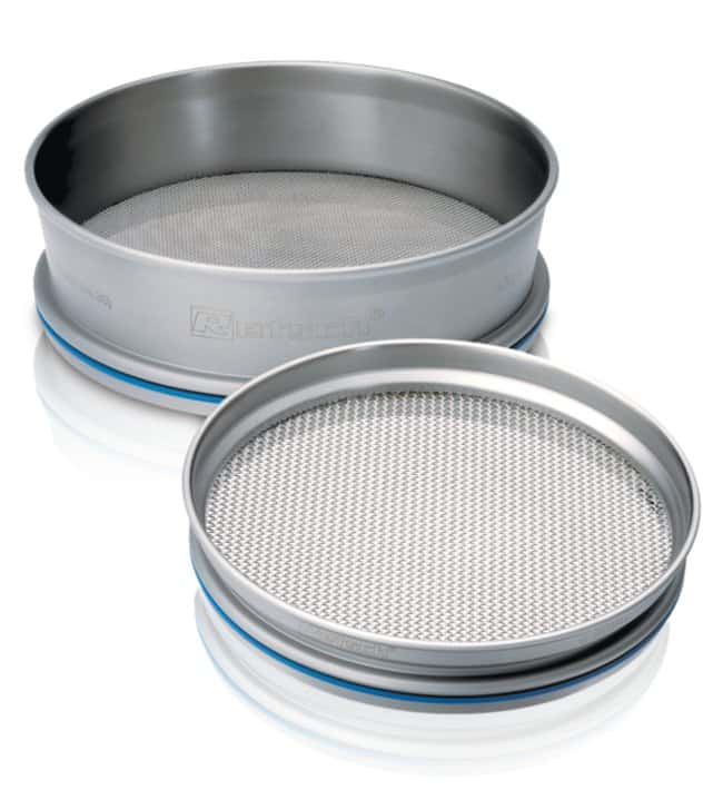 RETSCH203.2 dia. x 25.4mmH Stainless Steel Test Sieve, ASTM Certificate, Micrometer Pore Sizes Pore Size: 600um RETSCH203.2 dia. x 25.4mmH Stainless Steel Test Sieve, ASTM Certificate, Micrometer Pore Sizes
