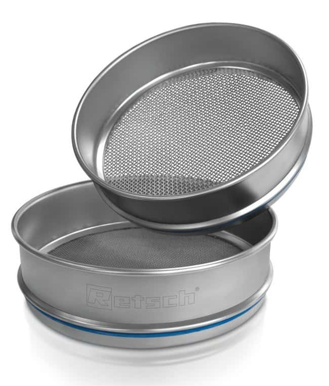 RETSCH203.2 dia. x 25.4mmH Stainless Steel Test Sieve, ISO Certificate, Pore Sizes: 10mm and Larger Pore Size: 12.50mm RETSCH203.2 dia. x 25.4mmH Stainless Steel Test Sieve, ISO Certificate, Pore Sizes: 10mm and Larger