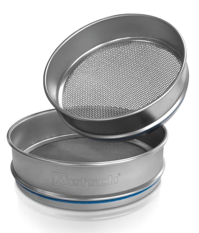 RETSCHTamis d'essai en acier inox 203,2x25,4mm (DiaxH), certificat ISO, tailles de pores: 10mm et plus: Spatules, pinces et ustensiles voir les résultats
