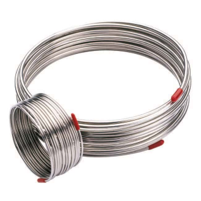 Trajan Scientific and Medical™ Stainless-Steel GC Tubing 0.50mm O.D. x 0.25mm I.D.; 25m L Trajan Scientific and Medical™ Stainless-Steel GC Tubing