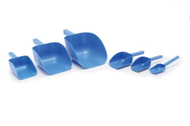Sampling Systems™SteriWare™ blauer Einweg PharmaScoop™ dimCapacityMetric: 125ml Sampling Systems™SteriWare™ blauer Einweg PharmaScoop™