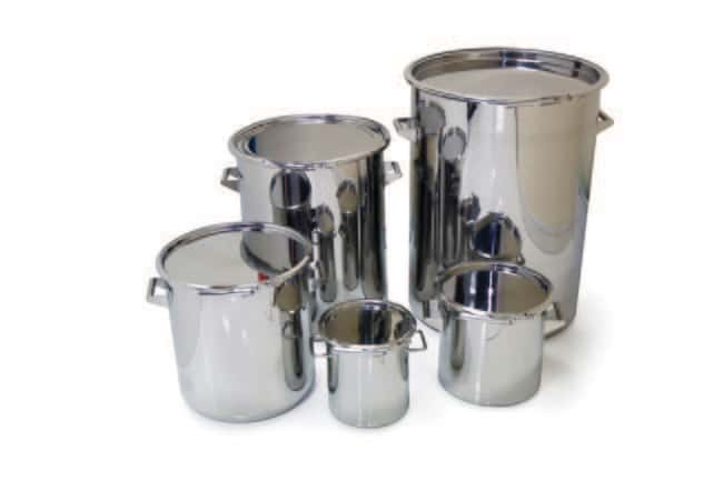 Sampling Systems™Stainless Storage Drum: Cans Hazardous Materials Storage and Disposal