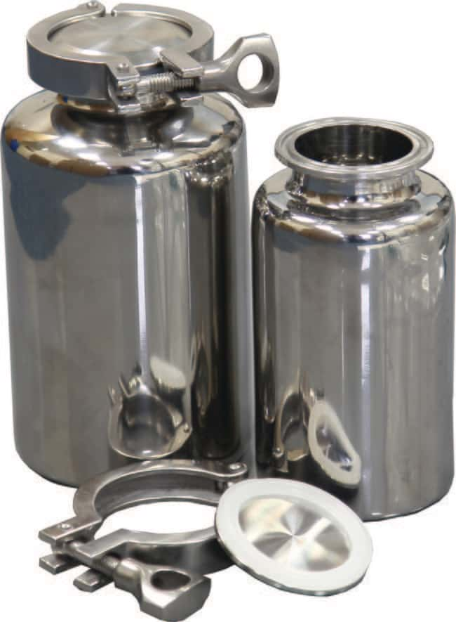 Sampling Systems™Edelstahlflasche Kapazität: 500ml Sampling Systems™Edelstahlflasche