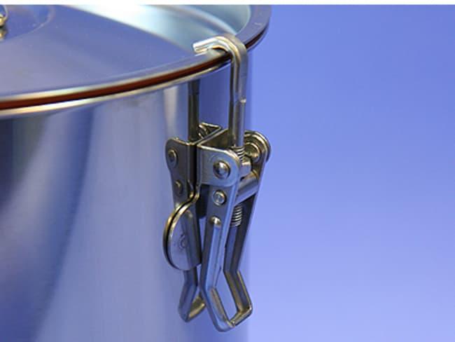 Sampling Systems™304Aufbewahrungsbehälter aus Edelstahl ohne Kippklammern Fassungsvermögen: 30l Sampling Systems™304Aufbewahrungsbehälter aus Edelstahl ohne Kippklammern
