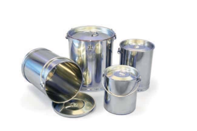 Sampling Systems™Stainless Steel Mini-Drums without Toggle Clamps Capacity: 10L Sampling Systems™Stainless Steel Mini-Drums without Toggle Clamps