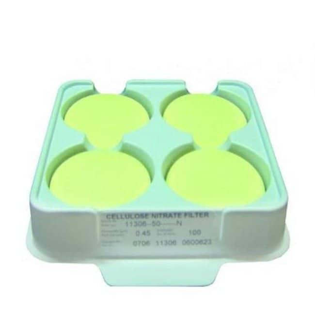 Sartorius Stedim Biotech™Cellulose Nitrate (Mixed Cellulose Ester) Membrane Filters, Type 11327, 0.2μm: Membranas para filtración Filtración