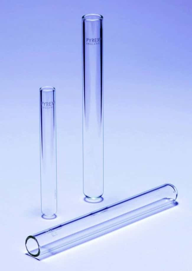 Pyrex™ Heavy Walled Test Tube Quantity: 100/Pk Reusable Glass Test Tubes