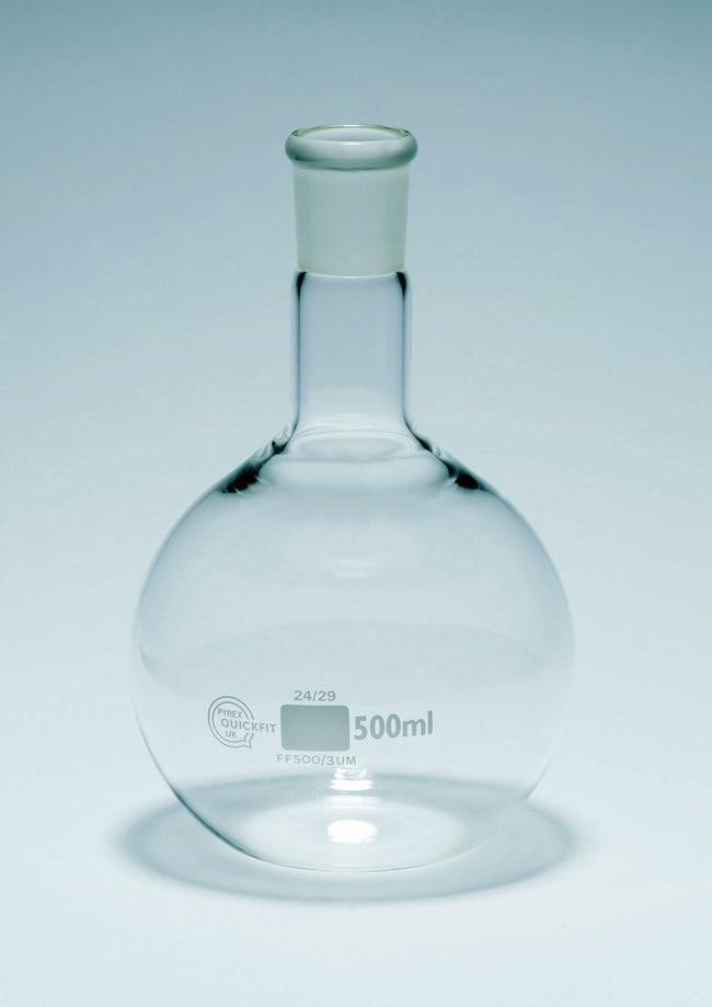 Matraz de fondo redondo con cuello medio Quickfit™ Capacity: 1000mL Matraz de fondo redondo con cuello medio Quickfit™