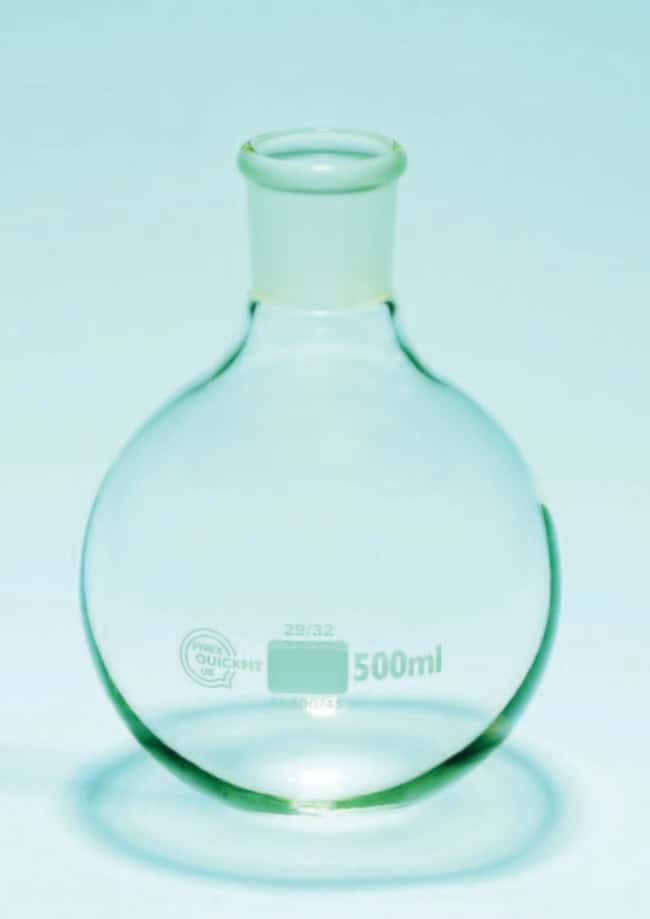 Quickfit™ Three-Vertical-Neck Round-Bottom Flask Capacity: 1000mL Quickfit™ Three-Vertical-Neck Round-Bottom Flask