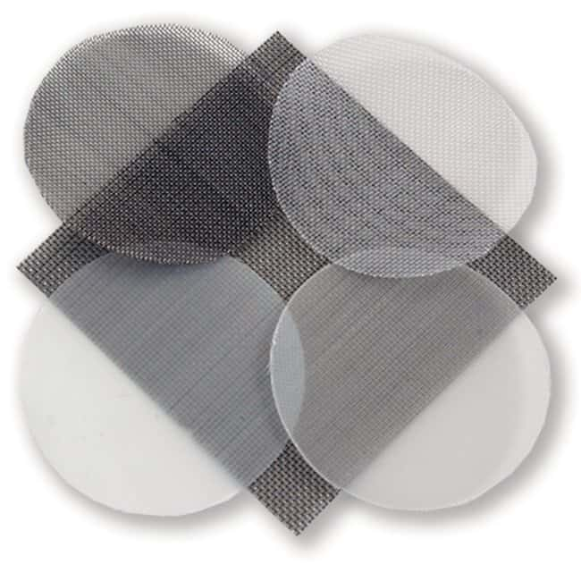 Spectrum Labs™ Spectra Mesh™ Woven Filter, Stainless Steel Diameter: 90mm, Open Area: 30% Spectrum Labs™ Spectra Mesh™ Woven Filter, Stainless Steel
