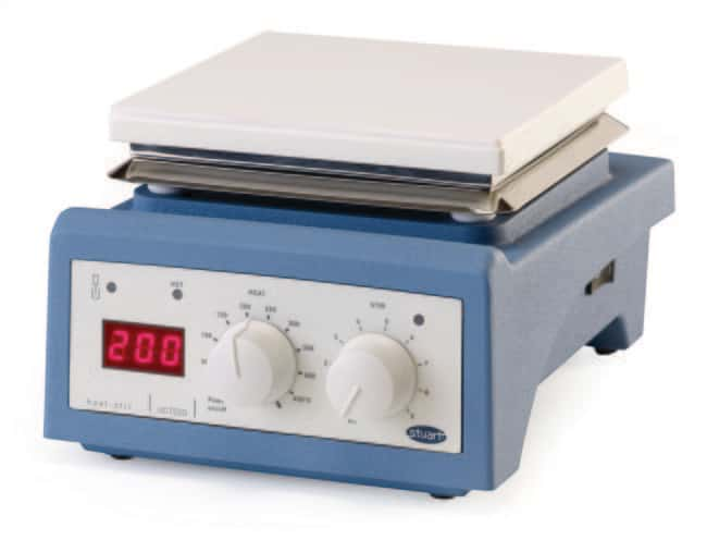 Cole-Parmer™ Stuart™  UC152D Model Hot Plate Stirrer, Ambient to 450°C, Glass Ceramic Capacity: 15L Combination Stirring Hotplates