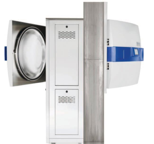 Systec™Autoclave traversant, modèle de sol, série HX2D Capacité totale/ nominale du HX-200 2D: 209/200litres voir les résultats