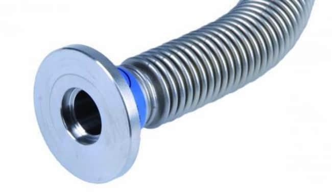 VACUUBRAND™Vakuumrohr aus Metall mit kleinen KF-Flanschen aus Edelstahl Durchmesser: 10mm; Länge: 500mm VACUUBRAND™Vakuumrohr aus Metall mit kleinen KF-Flanschen aus Edelstahl