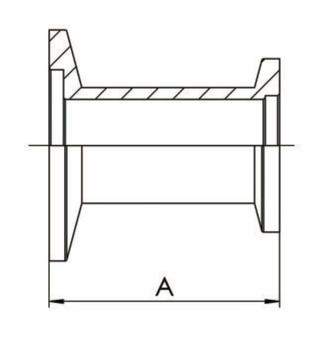VACUUBRAND™Reduzierstücke aus Aluminium mit Kleinflanschen Diameter: 40/16mm VACUUBRAND™Reduzierstücke aus Aluminium mit Kleinflanschen