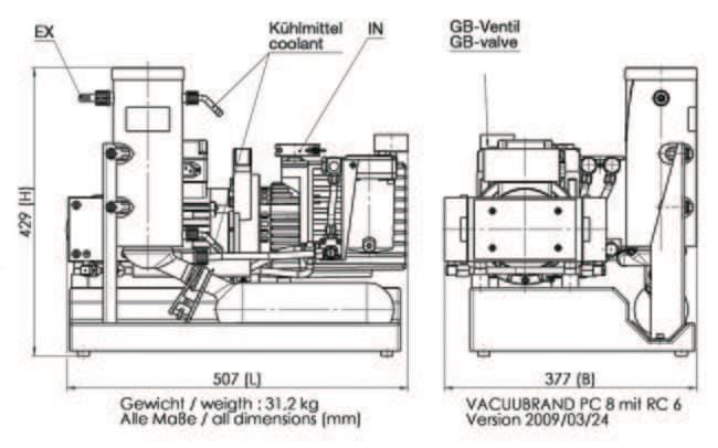 vacuubrand u2122 rc 6 chemistry
