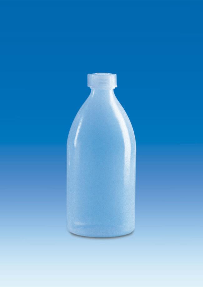 VITLAB™Transparent LDPE Narrow Mouth Bottles Flat shoulder; Dimensions: 94 dia. x 212mmH; Capacity: 100mL VITLAB™Transparent LDPE Narrow Mouth Bottles