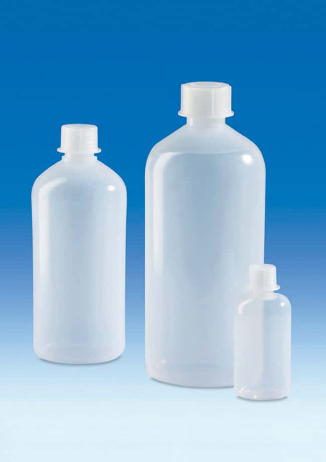 BrandTech™LDPE Bottles with Caps 50mL; Thread (GL): 18 BrandTech™LDPE Bottles with Caps