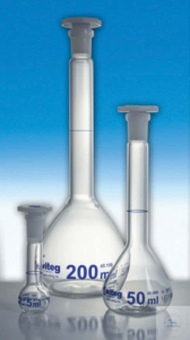Witeg™ Volumetric Flask with ST-PE Stopper  Witeg™ Volumetric Flask with ST-PE Stopper