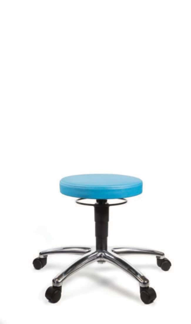 TechsitL-Tech Laboratory Low Stool Adjustable Height: 420 - 530mm Laboratory Chairs and Stools