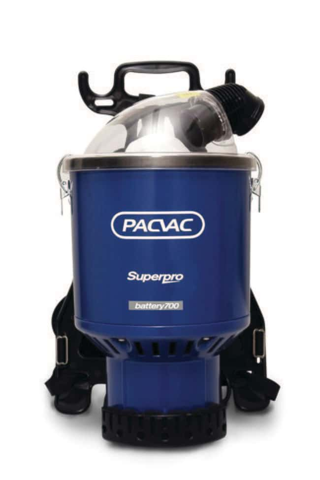 Pacvac™Superpro Battery 700 Backpack Vacuum Cleaner Product Type: Battery Powered Backpack Vacuum Cl Vacuum Cleaner Accessories