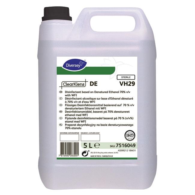 Diversey™ClearKlens DE Disinfectant 4 x 5L Diversey™ClearKlens DE Disinfectant