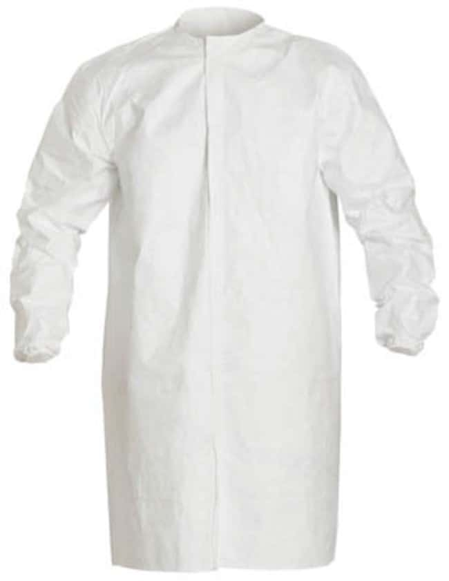 Dupont™Tyvek™ IsoClean™ Frock with Bound Neck Size: Large Dupont™Tyvek™ IsoClean™ Frock with Bound Neck