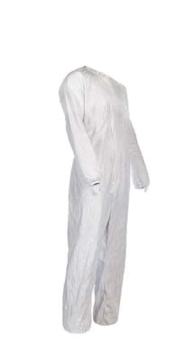 Dupont™ Tyvek™ IsoClean™ Unhooded Coverall with Bound Neck Size: X-Large Dupont™ Tyvek™ IsoClean™ Unhooded Coverall with Bound Neck