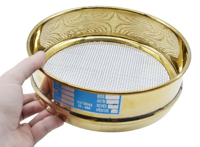 EiscoASTM Quality Brass Test Sieves - 8 in. 10:Filters and Filtration