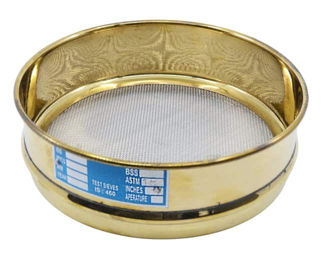 EiscoASTM Quality Brass Test Sieves - 8 in.:Filters and Filtration:Mechanical