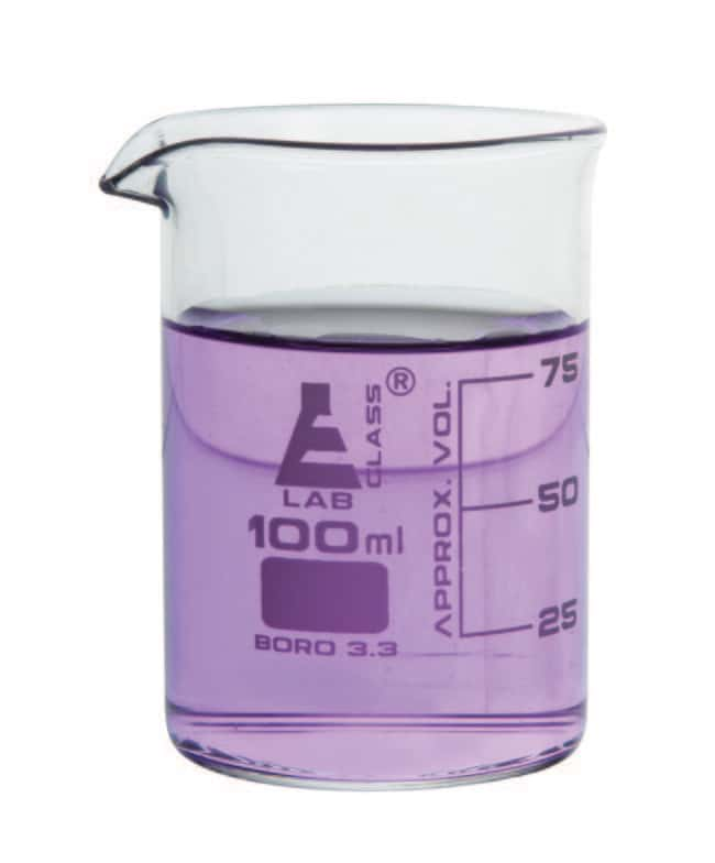 Eisco Low Form Borosilicate Glass Beakers